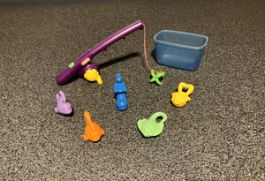Little Tikes cast & count fishing pole & bait for Sale in Lancaster, OH