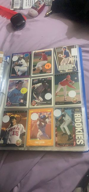 Fleer,tops,Donruss baseball rookie and all star cards 80's-90's for Sale in Garfield Heights, OH