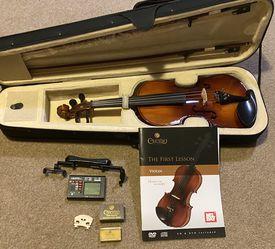Cecillo Violin Kit (Beginner) for Sale in Wilsonville,  OR