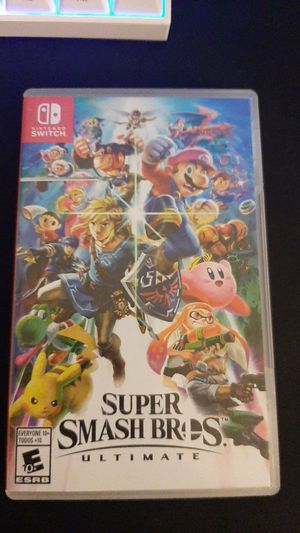 Super Smash Bros Ultimate for the Nintendo Switch for Sale in Perris, CA