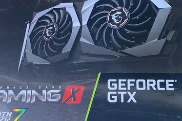 MSI GeForce GTX 1650 Super Gaming X Graphics Card for Sale in Rosemead,  CA