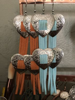 Concho earrings for Sale in Salinas, CA