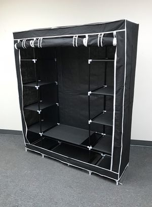 "New $35 each Fabric Wardrobe Closet Storage Clothes Organizer 60x17x68"" (3 Colors) for Sale in Whittier, CA"