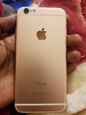 iPhone 6s rose gold iCloud locked for Sale in Amarillo, TX