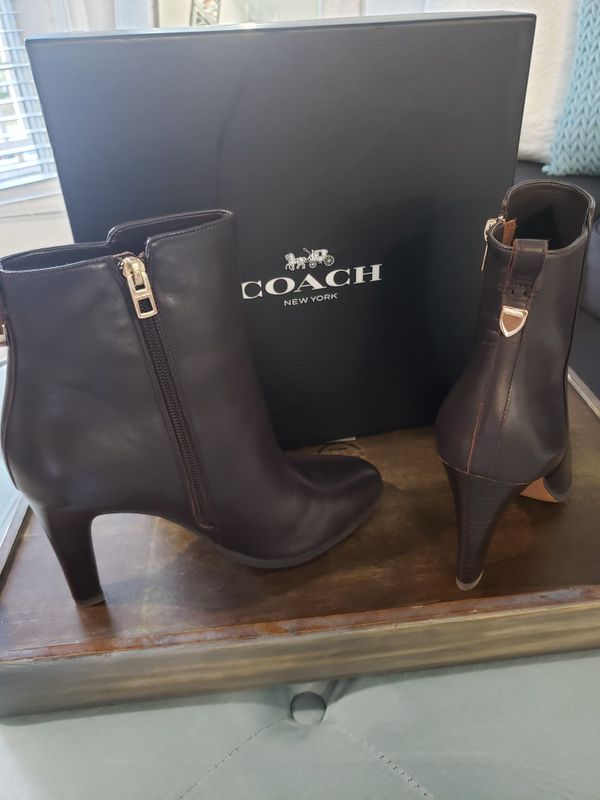 Coach Ankle Boots size 8.5W