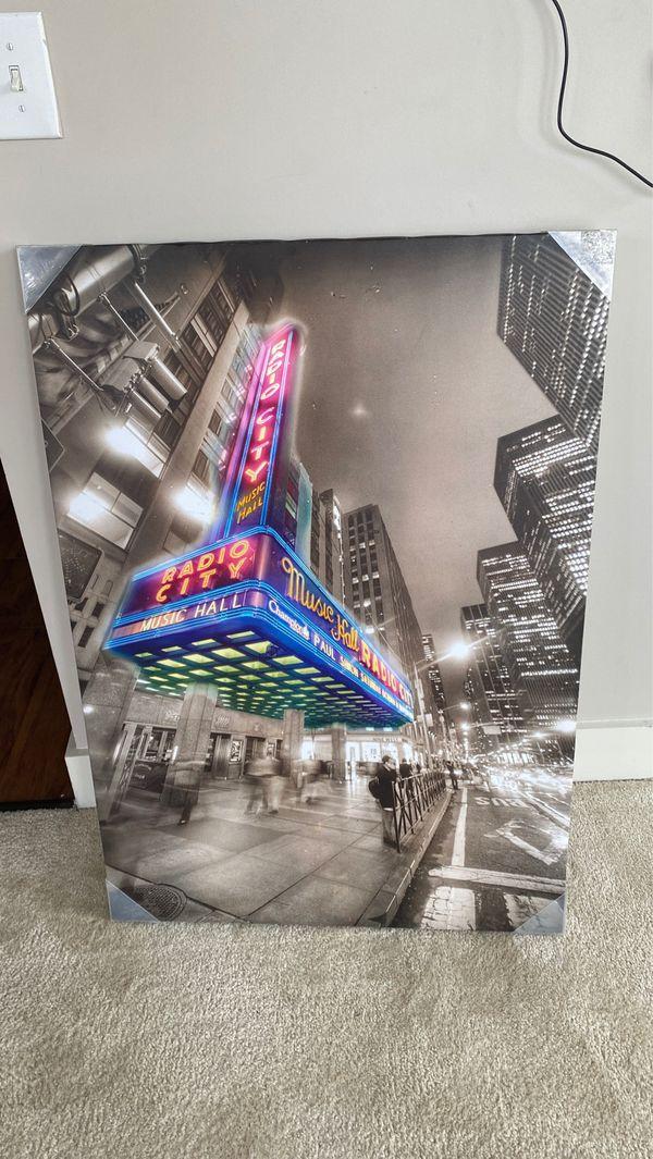 Radio city canvas