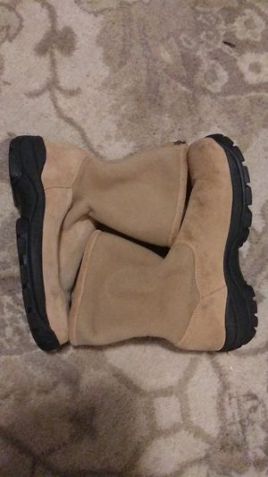 Fleece boots lands ends 10 for Sale in Williamsport, PA
