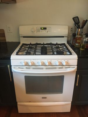 White range, dishwasher, and microwave for Sale in Lexington, KY