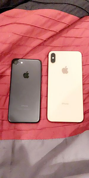 IPHONE XS MAX 256GB AND IPHONE 7 256GB for Sale in The Bronx, NY