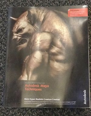 Autodesk Official Training Guide: Maya Techniques for Sale in San Francisco, CA