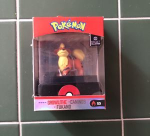 $35 Pokemon Select Collection Series 3 Growlithe Mini Figure for Sale in Las Vegas, NV