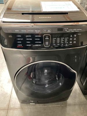 Samsung Washing Machine 6.0 Total cu. ft. High-Efficiency FlexWash Washer for Sale in Whittier, CA