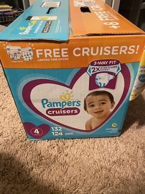 Pampers cruisers size 4 for Sale in Queen Creek, AZ