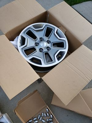 Factory rims for 2018 jeep rubicon for Sale in Cheektowaga, NY
