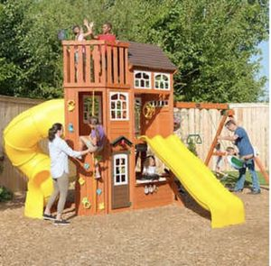 Cedar Summit by kidkraft Lookout extreme playset-Do it Yourself for Sale in Vancouver, WA