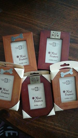 Cute pet lover dog and cat mini picture frames for Sale in Tempe, AZ