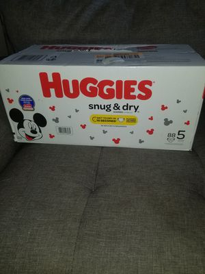 Huggies diapers #5 for Sale in Glenarden, MD