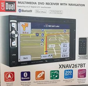 Dual dvd cd navigation system all in one quick sell for Sale in Houston, TX