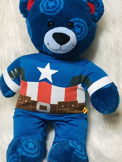 Build a Bear Captain America Teddy Bear for Sale in Largo,  FL