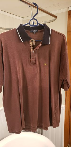 Burberry polo - Large brown polo shirt for Sale in St. Louis, MO