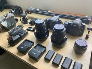 Filmmaker / Photographer Camera and Gear Bundle for Sale in Seattle, WA