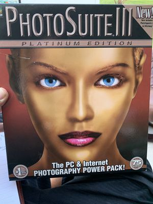 MGI PhotoSuite III 3 Platinum Edition New in Box. Condition is Brand New for Sale in Port St. Lucie, FL
