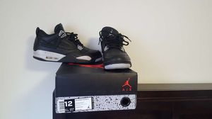 Air Jordan 4 Retro LS Size 12 for Sale in Oakton, VA