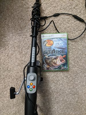 Bass Pro shop the strike 360 and fishing rod for Sale in Kennewick, WA