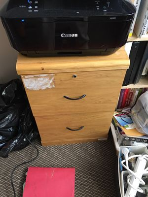 2 Draw Used File Cabinet for Sale in Philadelphia, PA