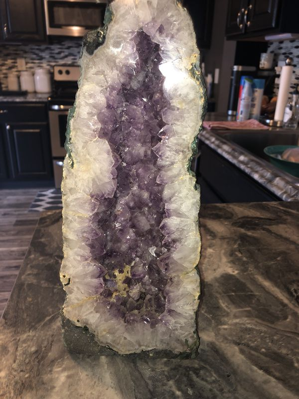 Brazilian cathedral amethyst geode $350obo