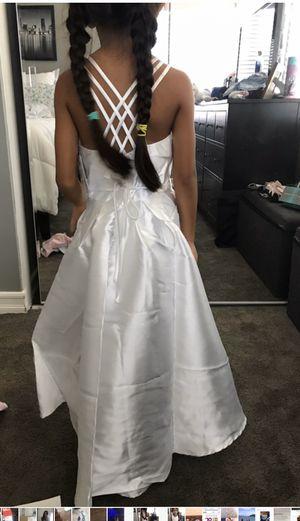 Flower girl dress size 7/8 for Sale in Whittier, CA