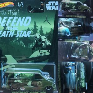 Hot wheels Star Wars 85 Chevy Astro van cargo drag racing collectible die cast toy car $15 obo trade Hotwheels honda Toyota Nissan datsun Civic crx for Sale in Colton, CA