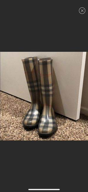 Burberry rain boots for Sale in San Diego, CA