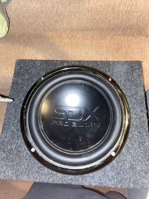 SDX Pro Audio 12 in sub for Sale in Plainfield, IL