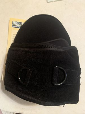 Warrior lumbar pain reliever brace for Sale in Scio, OH