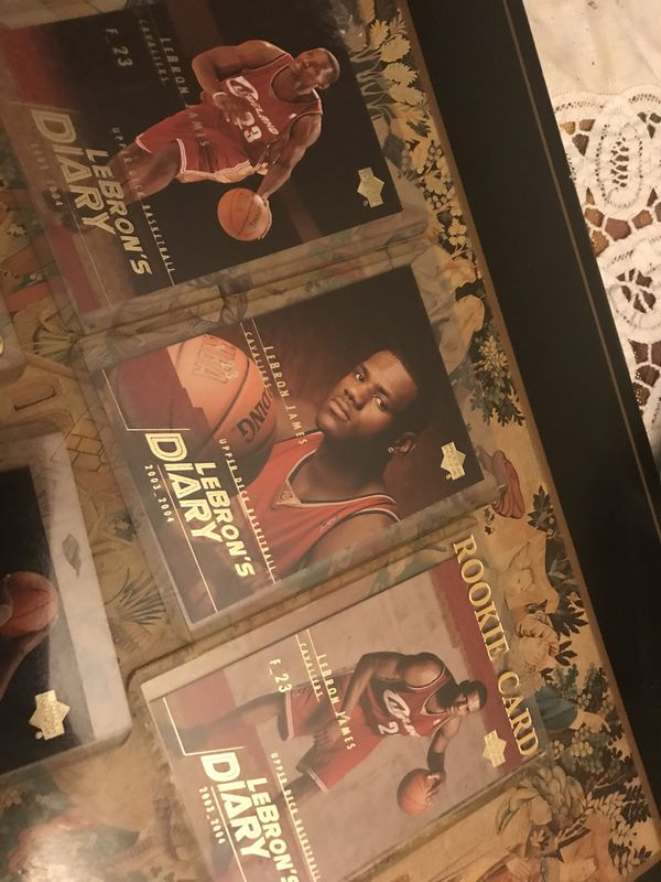 7 Lebron James rookie cards