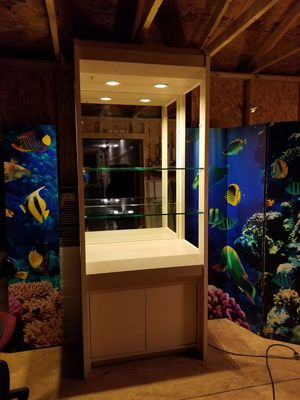 High End Commercial Display with Under Cabinet Storage for Sale in Trinity, NC