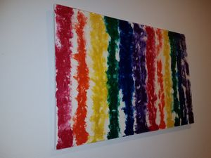"""36""""×24"""" Abstract Art for Sale in Kissimmee, FL"""