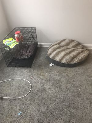 Doggie cage brand new 2 weeks old and pillow for Sale in Hyattsville, MD