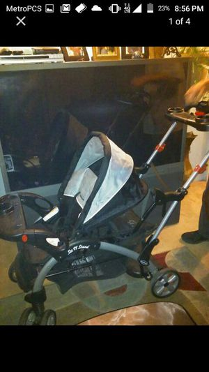 Sit and stand double stroller for Sale in Lakewood, CO