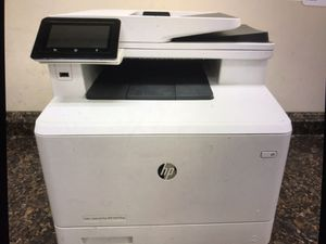 Hp color laserjet pro m477fnw printer for Sale in Thousand Oaks, CA