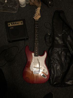 Electric Guitar + Amp & Carrying Case for Sale in Atlanta, GA
