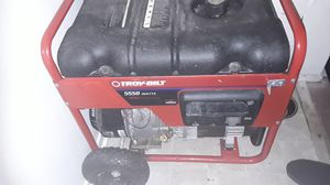 Troy-Bilt 5500 Watt Generator for Sale in Groveport, OH