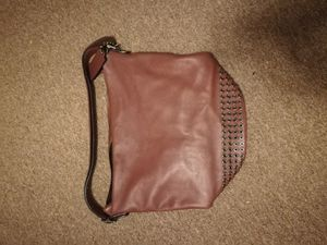 Coach used brown leather handbag for Sale in Columbus, OH