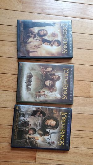 Lord of the rings 6 movies for Sale in Germantown, MD