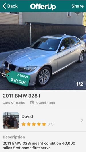 2011 328I for Sale in New York, NY