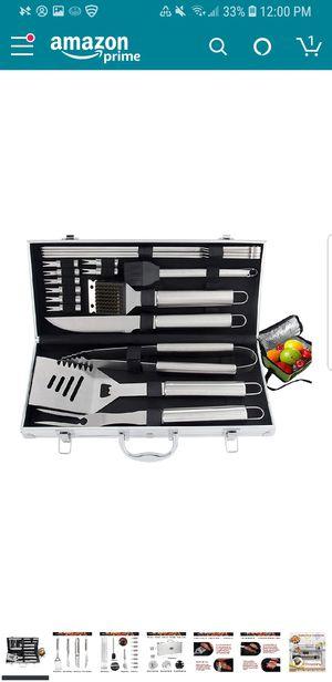 Bbq grill tool set 20pcs for Sale in Cumming, GA