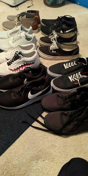 Men's shoes. Sizes 8-9.5 for Sale in Klamath Falls, OR