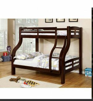 BRAND NEW TWIN FULL BUNK BED ADD MATTRESS TWIN AND FULL ADD FURNITURE AVAILABLE LITERA INDIVIDUAL MATRIMONIAL for Sale in Riverside, CA
