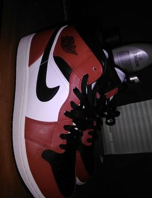 Air Jordan 1 mid Chicago Black Toes for Sale in Columbia, SC